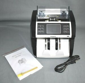 Aibecy Lcd Multi currency Cash Bill Counter Machine With Ir Counterfeit Detector