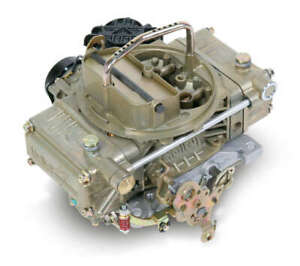 Carburetor 4150 Truck Avenger 4 barrel 670cfm Square Manual Vacuum Sec Gold