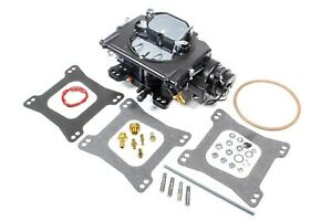Carburetor Street Demon 4b Spread Square Electric Vacuum Sec Aluminum Black