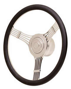 Gt Performance Steering Wheel Gt Retro Banjo 15 1 2 3 Spoke Aluminum Natural