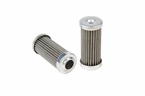 Aeromotive 12616 Fuel Filter 100micron Stainless In line Fuel Filters