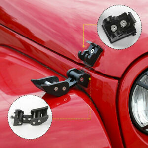 Hood Latch Locking Catch Buckle For Jeep Wrangler Jk Jl Unlimited Accessories