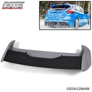 High Performance For 2012 2018 Ford Focus Hatchback Rs Style Spoiler Wing