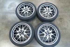 Bbs Rg738 18x7 5 Forged Wheels 5x114 3 Rims 45 Offset Rgr Rg r