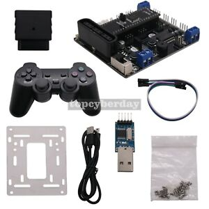 6ch Servo Controller Board 2ch Motor Driver handle For Rc Tracked Vehicle Robot