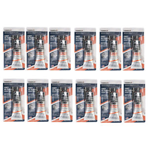 12 Pack Grey High Temperature Oil Resistance Rtv Silicone Gasket Maker