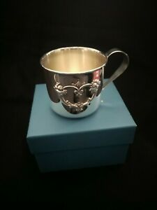 Reed Barton Sterling Silver Francis I First Baby Cup With Box