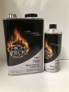 High Gloss Urethane Clear Coat Gallon Kit 4 1 With Activator