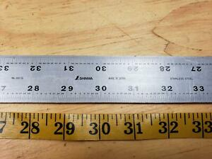 Shinwa 60 Machinist Scale Straightedge 2 Wide Made In Japan Rule