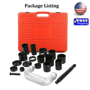 21pcs Ball Joint Auto Repair Tools Kit Service Remover Installing Master Adapter