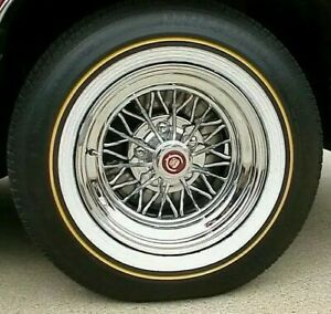 4 New Vogue 235 70r 15 Custom Built Tires Tyres Mustard Mayo Vouges White Wall