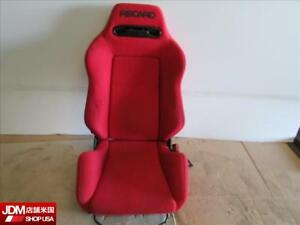 Jdm 02 05 Honda Civic Type R Ep3 Right Rh Side Aftermarket Recaro Seat W Rails