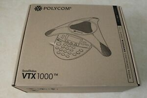 Polycom Soundstation Vtx 1000 Conference Phone 2200 07300 001 W o Mics Subwoofer