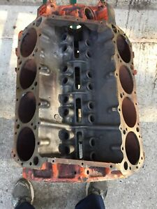 1969 Mopar 383 Hp Bare Block Dated 5 21 69 Chrysler Dodge Plymouth 030 Bore Size