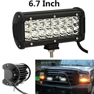 2pcs 6 7 Truck Car 24 Leds Super Bright White Driving Work Fog Light Waterproof