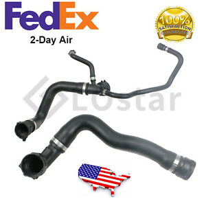 Upper Lower Radiator Coolant Water Hose Set Kit Fit Bmw E53 X5 4 4 4 6 00 03