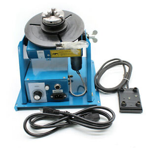 2 5 3 Jaw Rotary Welding Positioner Turntable Table Lathe Chuck 10kg