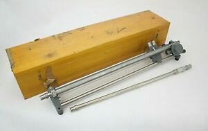 General Radio Company Slotted Line Type 874 lba With Wooden Case