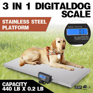 3in1 Digital Livestock Pet Dog Scale Large Scale Electronic Goat Scale Weight
