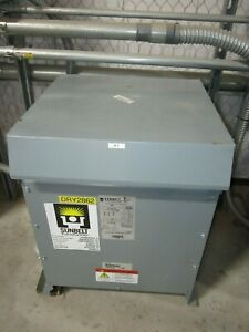 Sunbelt 45 Kva Transformer High Voltage 480 Low Voltage 240