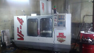 Haas Vf 4 Vertical Mill Great Condition