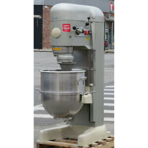 Hobart 140 Quart V1401 Mixer With Bowl Used Great Condition