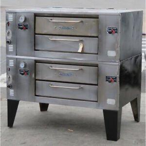 Bakers Pride Ds 805 Pizza Oven Double Deck Used Great Condition