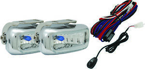 Vision X Pair Of Chrome 2 X 5 Fog Driving Lights With Harness Vx 2