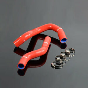 For 68 1979 Ford F100 F150 F250 Bronco Silicone Radiator Hose Fit Pipe Tube Kit