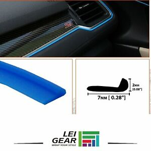20ft Molding Gap Trim Strips Car Parts Interior Center Console Steering Wheel