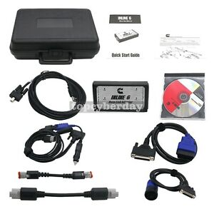 Inline 6 Data Link Adapter Heavy Duty Diagnostic Tool Scanner Inline 6 Cable