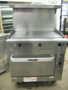 36 Vulcan Range Griddle Grill Flat Top 440 480 Volt Electric W Standard Oven