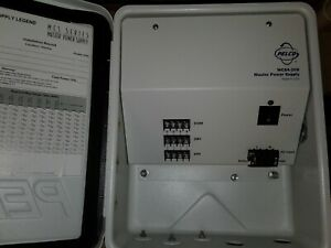 Pelco Wcs4 20b Outdoor Multiple Camera Master Power Supply 20 Amp