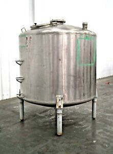 Mo 2990 Stainless Steel 750 Gallon Mixing Tank