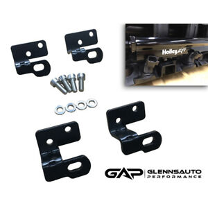Holley Efi Fuel Rail Bracket Kit For Tbss Nnbs Intake Manifold