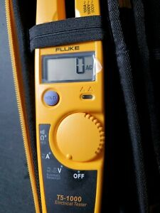Fluke T5 1000 Voltage Continuity And Current Tester Free Shipping Usps Priority