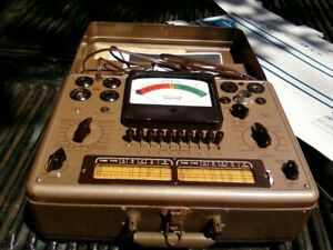 Triplett Tube Tester 3413 With Manuals