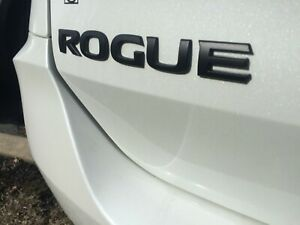 New Oem Nissan 2018 rogue Midnight Edition Rear Trunk Emblem