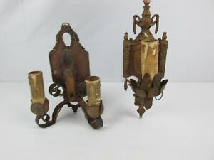 Antique Cast Iron Lincoln Wall Sconce Sconces Old Home Decor