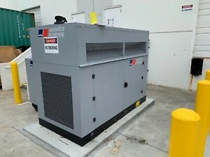 Mtu 70 Kw Enclosed Standby Genset 3 Phase 480 277 Low Hours 11 44