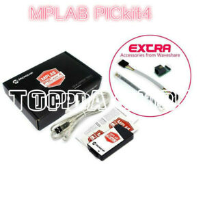 1pcs X Pg164140 Hardware Debuggers Pickit 4 Mplab Pickit4 With Usb Cable