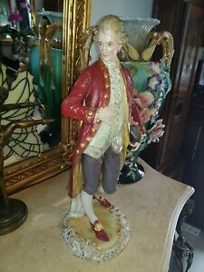 Large Dresden Porcelain Figure