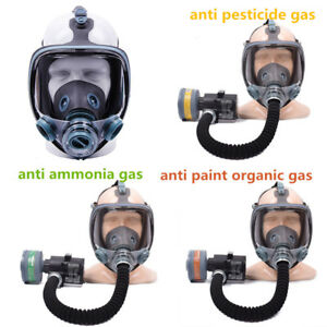 Electric Industrial Respirator Gas Mask Chemical Spray Paint Filter