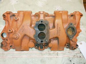 3916313 2 Barrel Intake Manifold Small Block Chevy Circle Dirt Track Racing