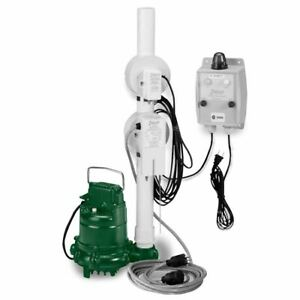 Zoeller 940 0008 N161 Pump W oil Guard Switch Assembly 0 5 Hp 115v 20 Cord New