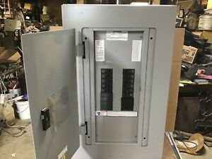 Siemens 200 Amp Electrical Panel Circuit Breaker Box With Breakers And Cover