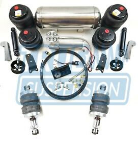 Mustang Ii Classic Car Complete Universal Air Ride Suspension Kit Air Springover