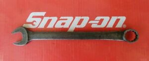 Snap On Tools 7 8 Standard Length Industrial Finish 12 Pt Combination Wrench