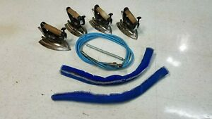 4 Cissell Act 850 Steam Irons One Set Of Hoses One Pair Of Hose Insulators