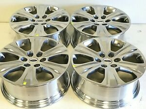 20 Inch Ford F150 Expedition Set Of 4 04 2019 Polished Factory Oem Wheels Rims